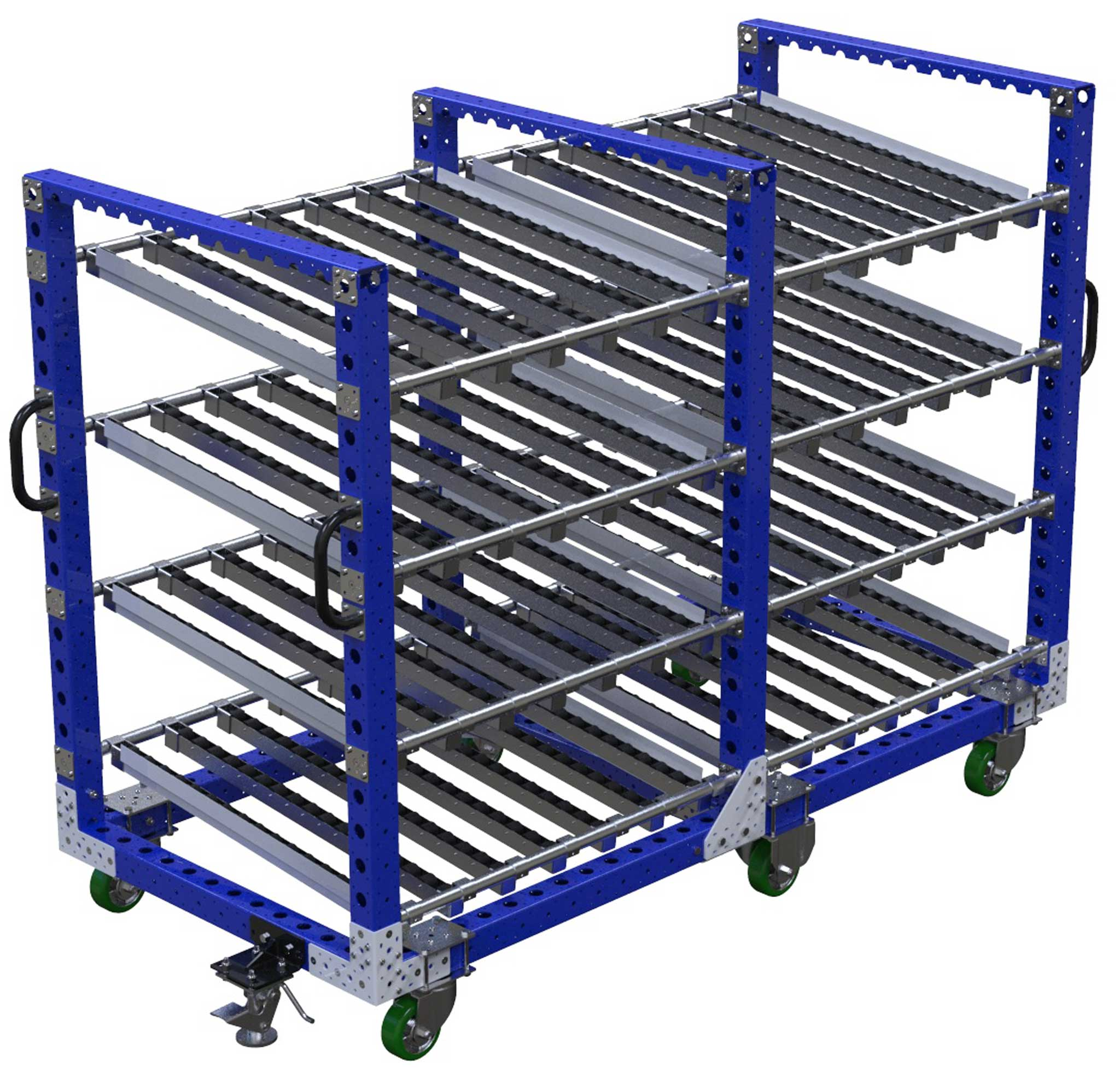 Four Level Flow Roller Cart