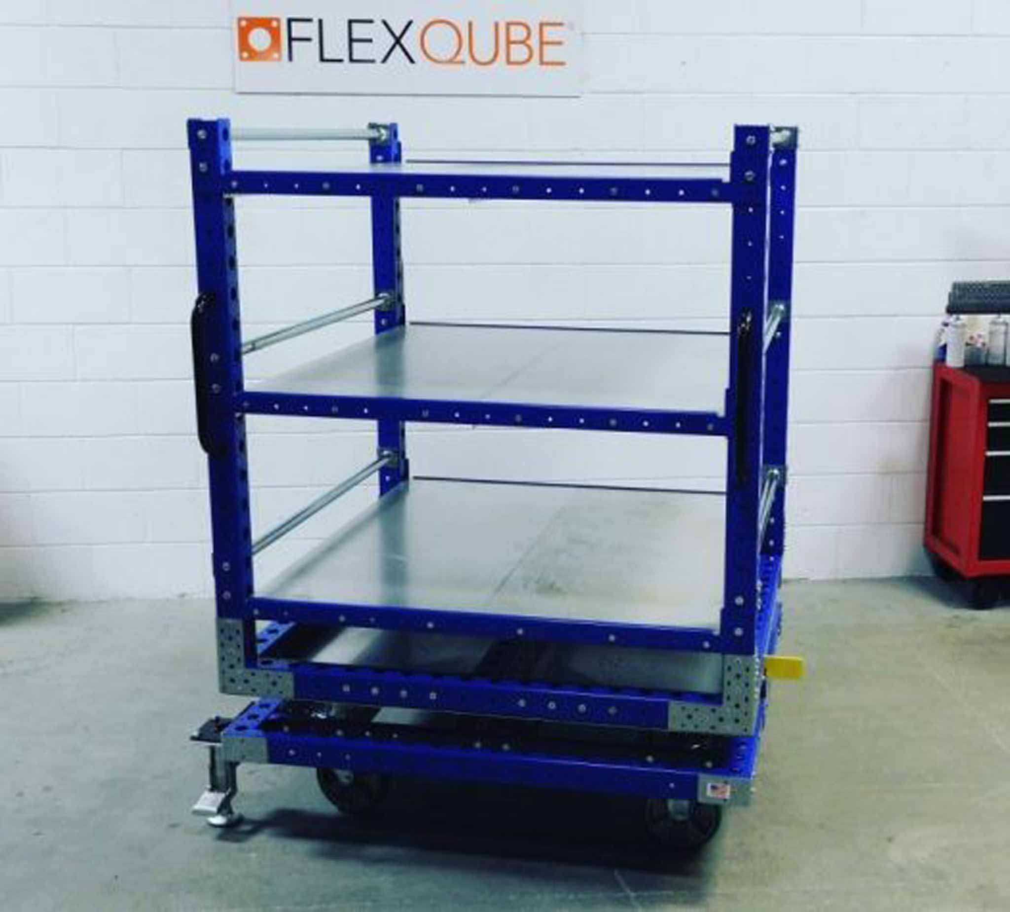 Rotating-Shelf-Cart-1260 x 1260 mm