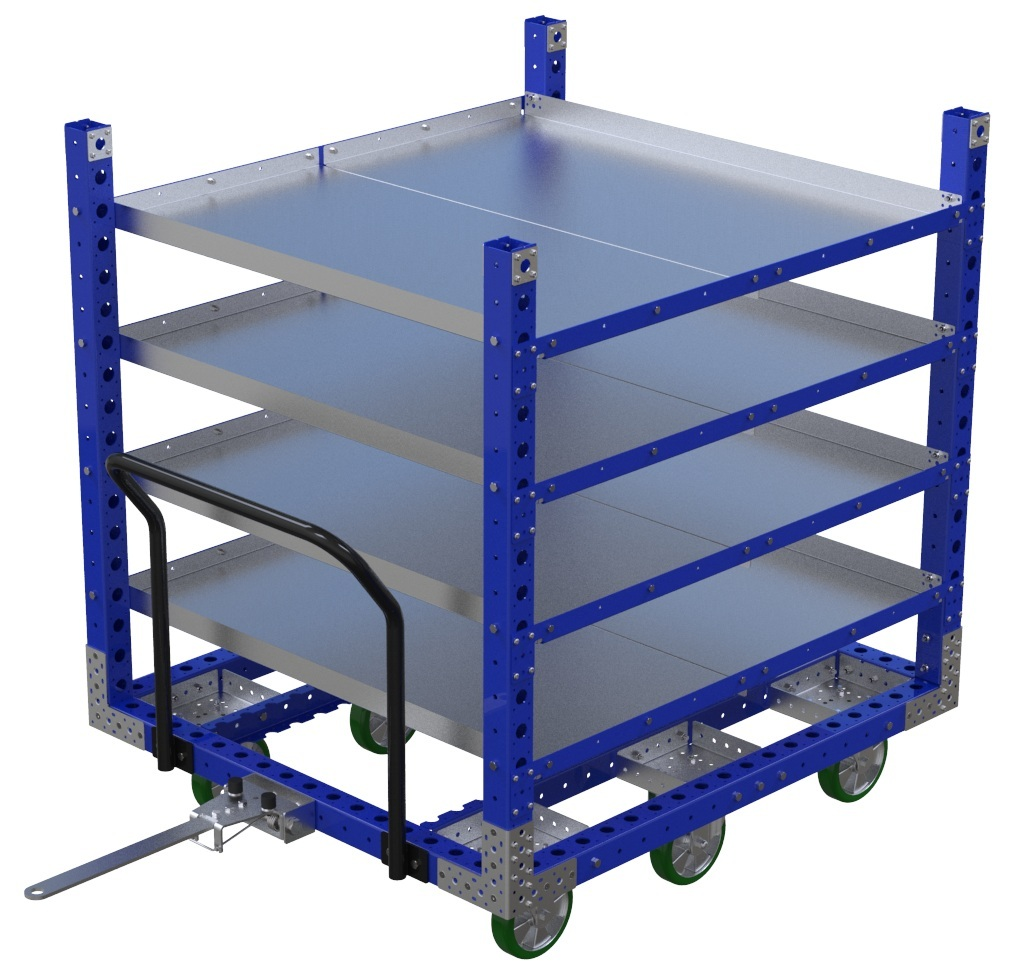 Flat Shelf Cart –1400 x 1260 mm
