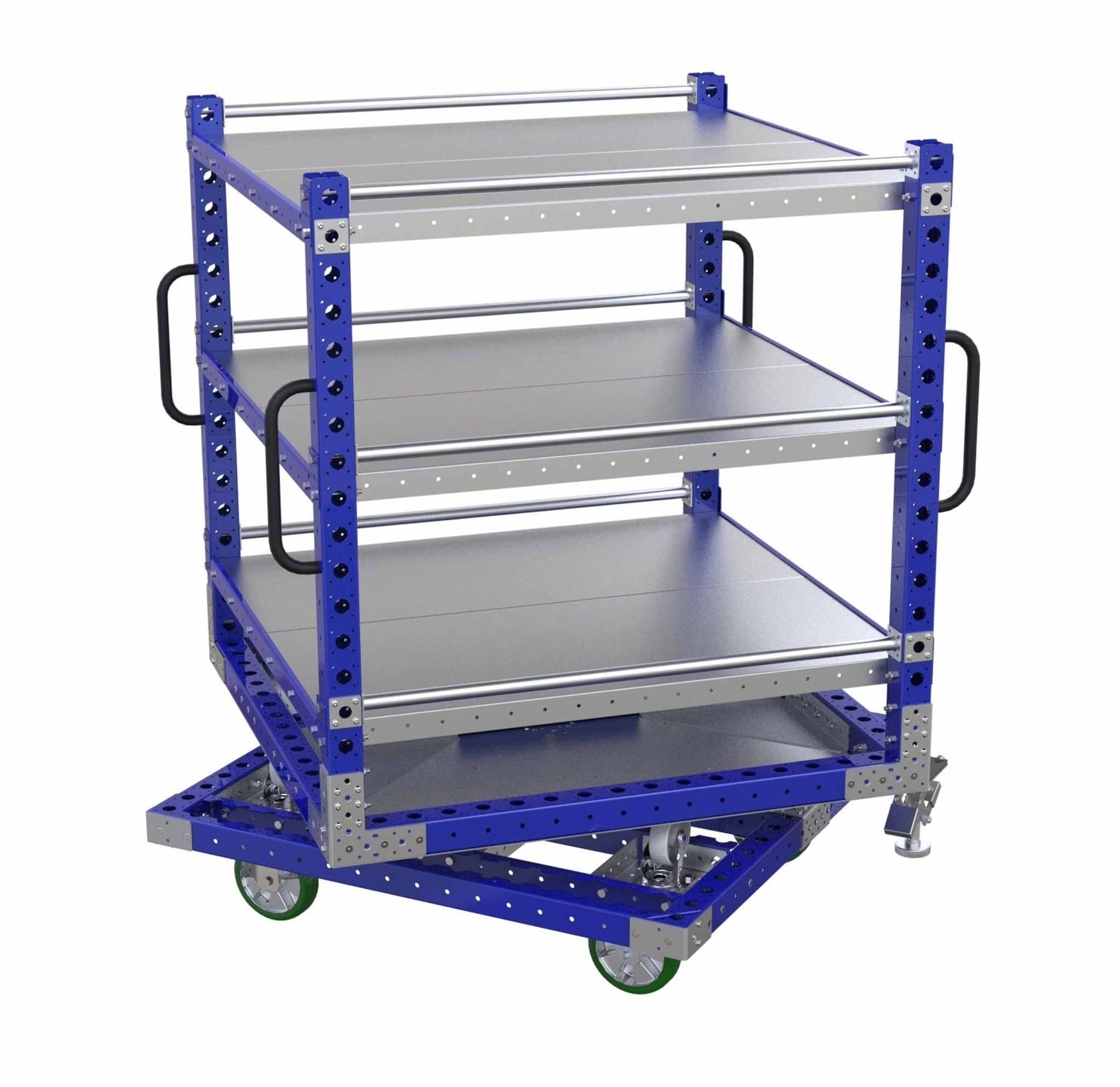 Rotating Shelf Cart 1260 x 1260mm