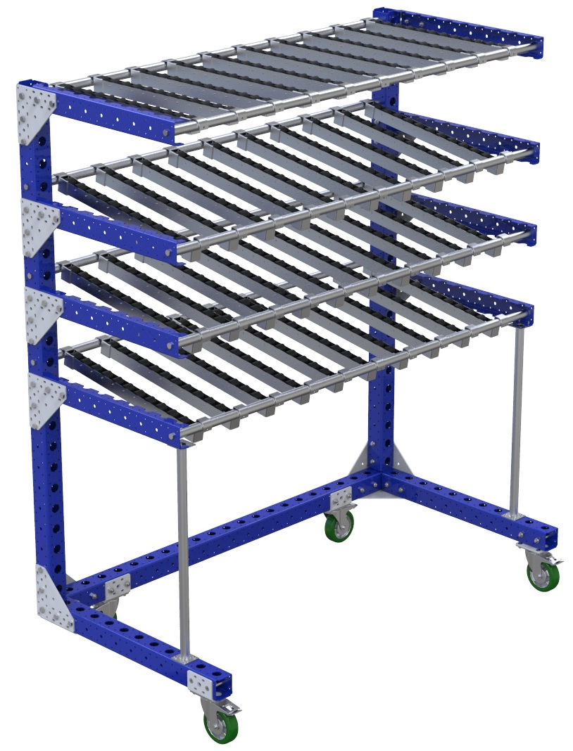 Flow Shelf Cart – 840 x 1610 mm