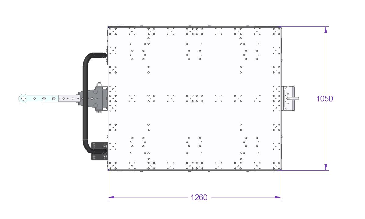 Tugger Cart – 1260 x 1050 mm