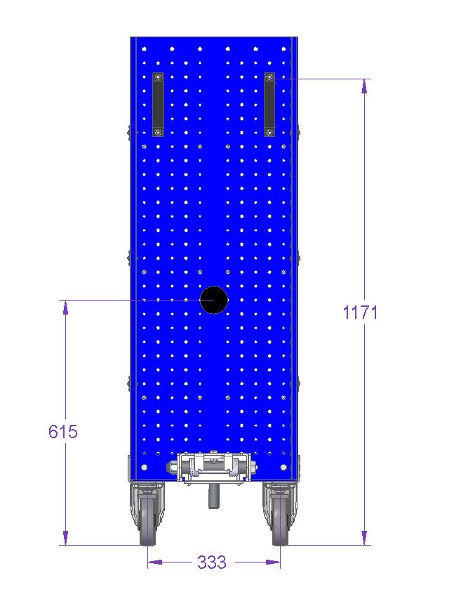Shelf Cart – 830 x 420 mm