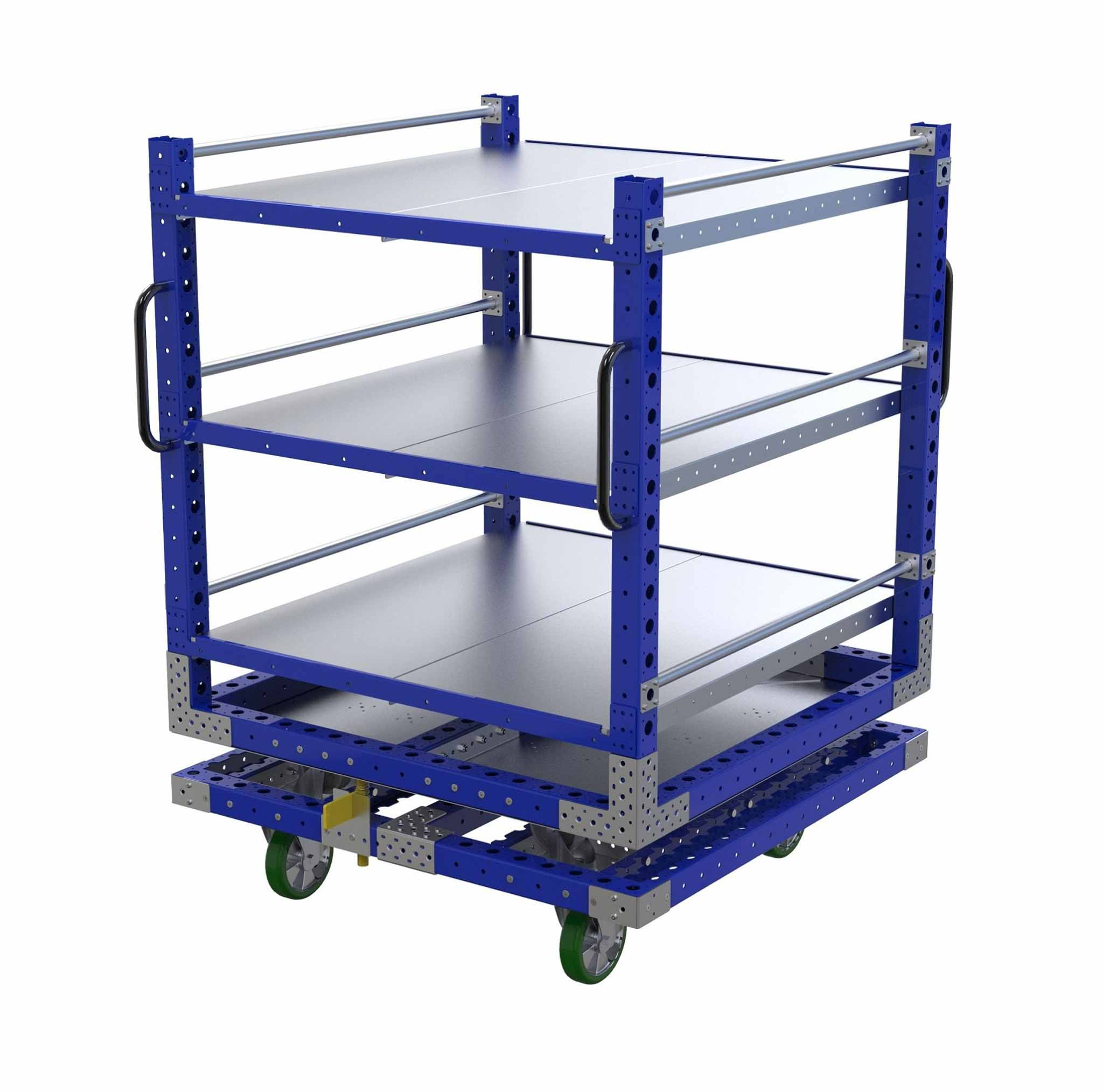 Rotating Shelf Cart - 1260 x 1260mm