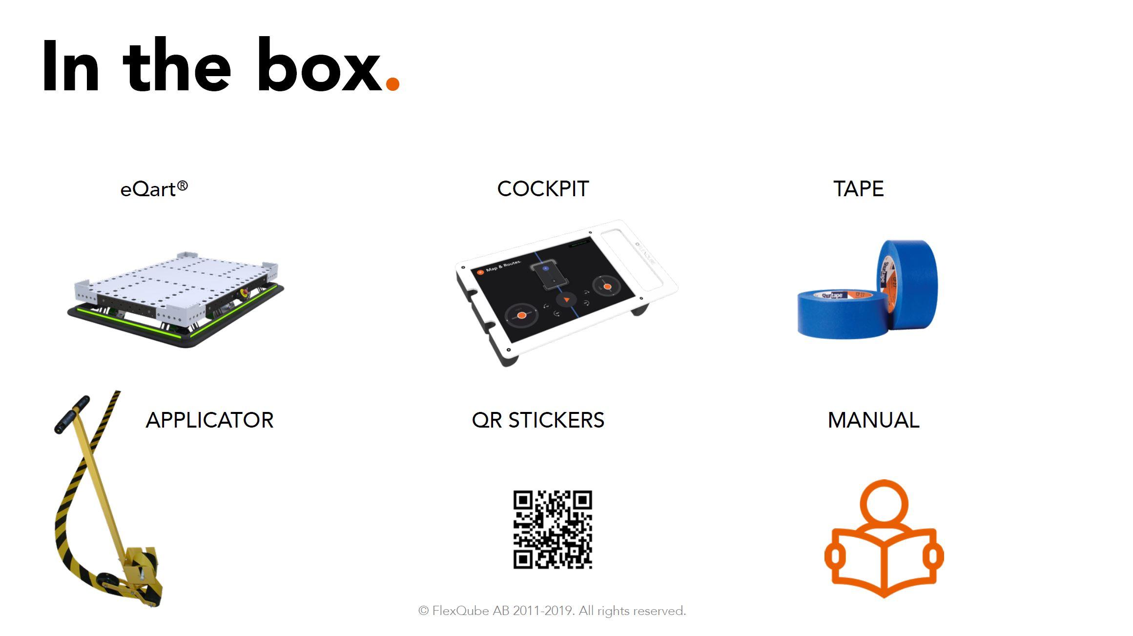 In the box FlexQube