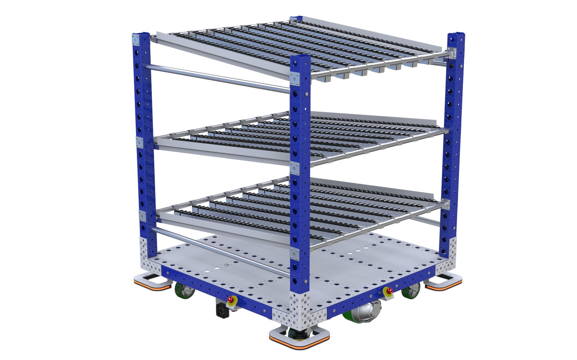 eQart - Flow Rack US 48 x 48 Inch
