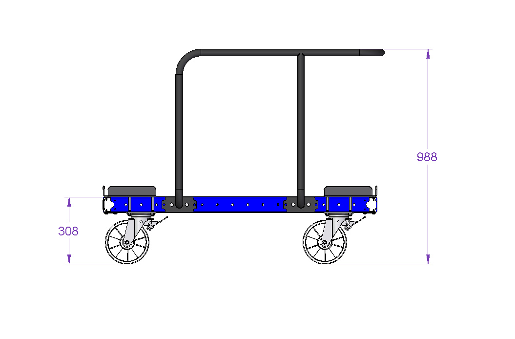 Standard EURO Pallet Trolley