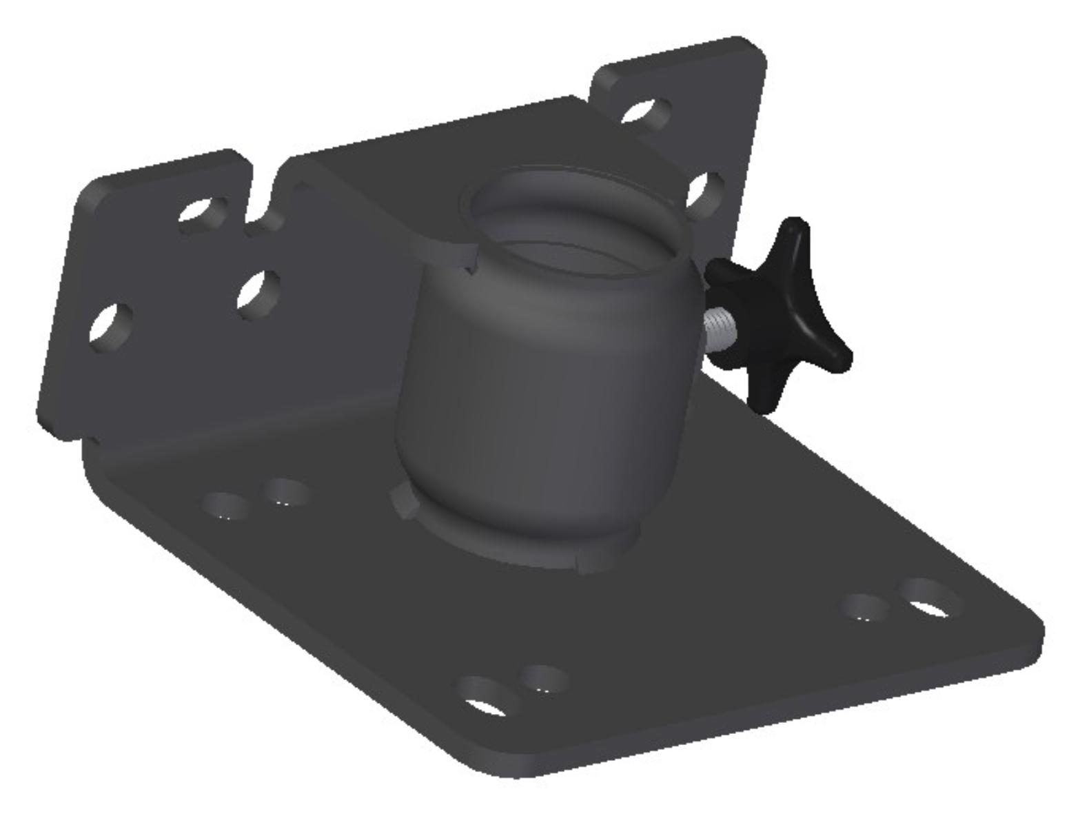Handlebar / Floor brake attachment-US