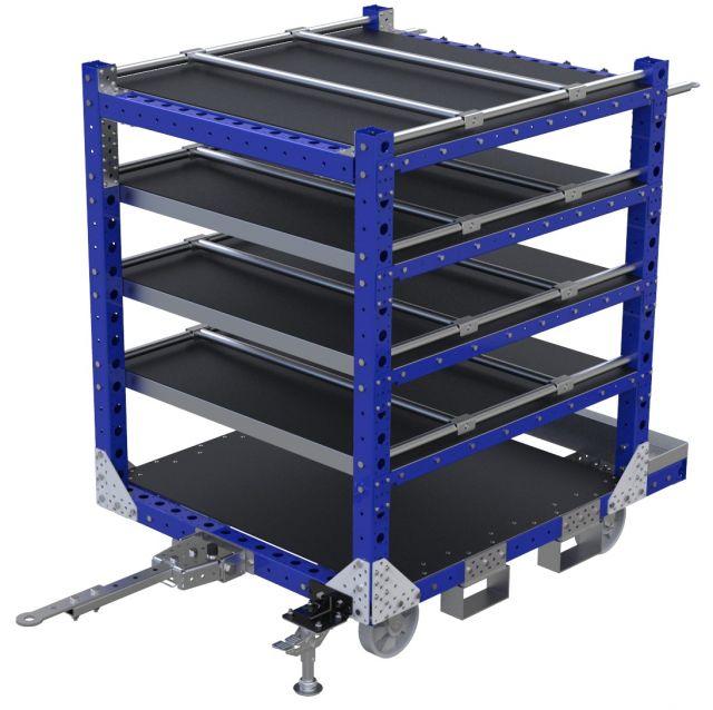 Flat Shelf Cart – 1400 x 1120 mm