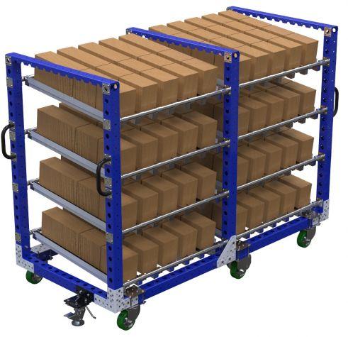 Flow roller cart – 980 x 2100 mm