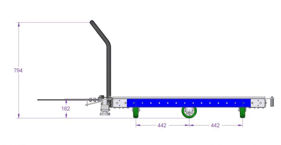 Tugger Cart – 1260 x 1190 mm