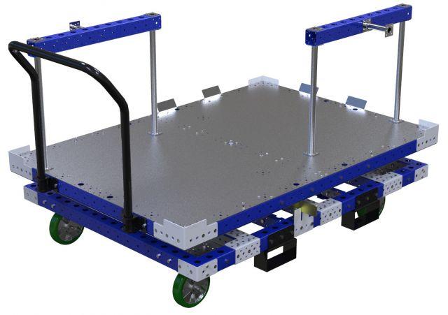 Rotating Platform Cart – 1260 x 1820 mm