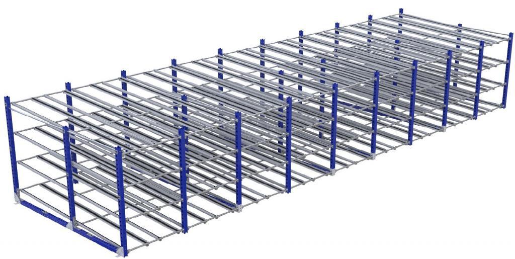 Roller rack – 3080 x 10800 mm