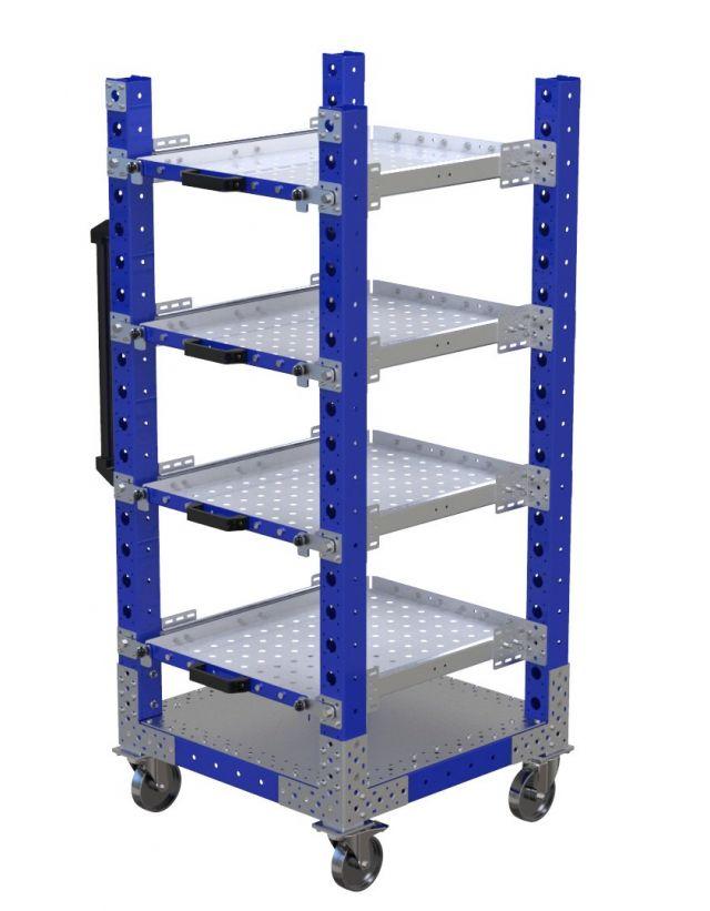 Extendable Shelf Cart – 700 x 700 mm