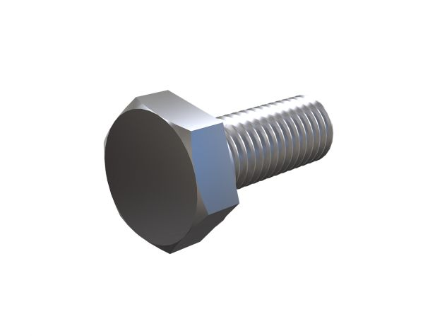 M10 x 25 mm Hex Head