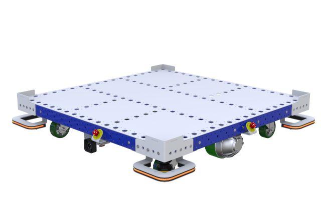 eQart - Flat Deck US 48 x 48 Inch