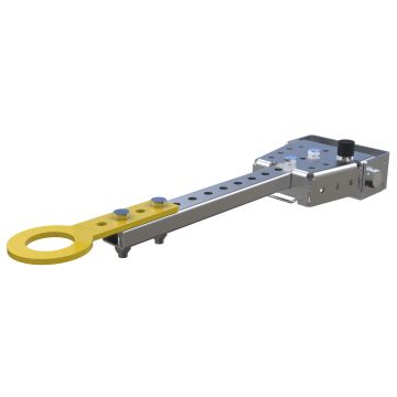 FlexQube tongue and hitch tow bar