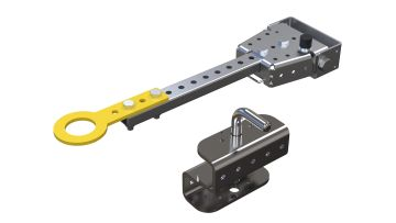 Standard tow bar and hitch package