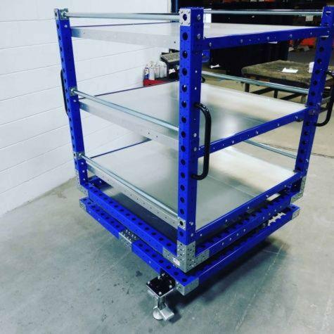 Rotating-Shelf-Cart-1260 x 1260 mm