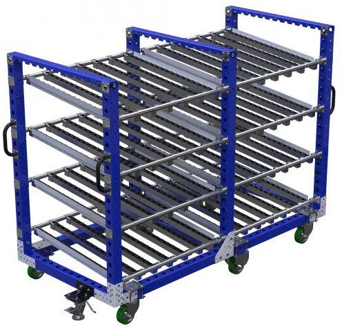 Four Level Flow Roller Cart