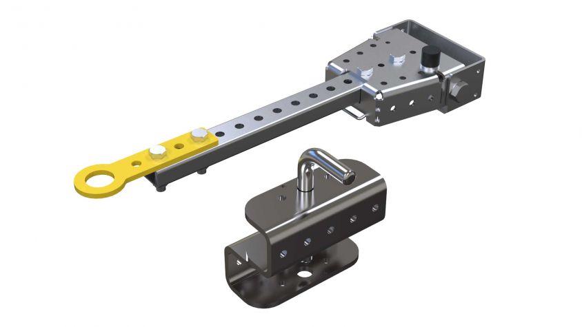 Tow bar Hitch Kit (40 mm Lip) 560 mm