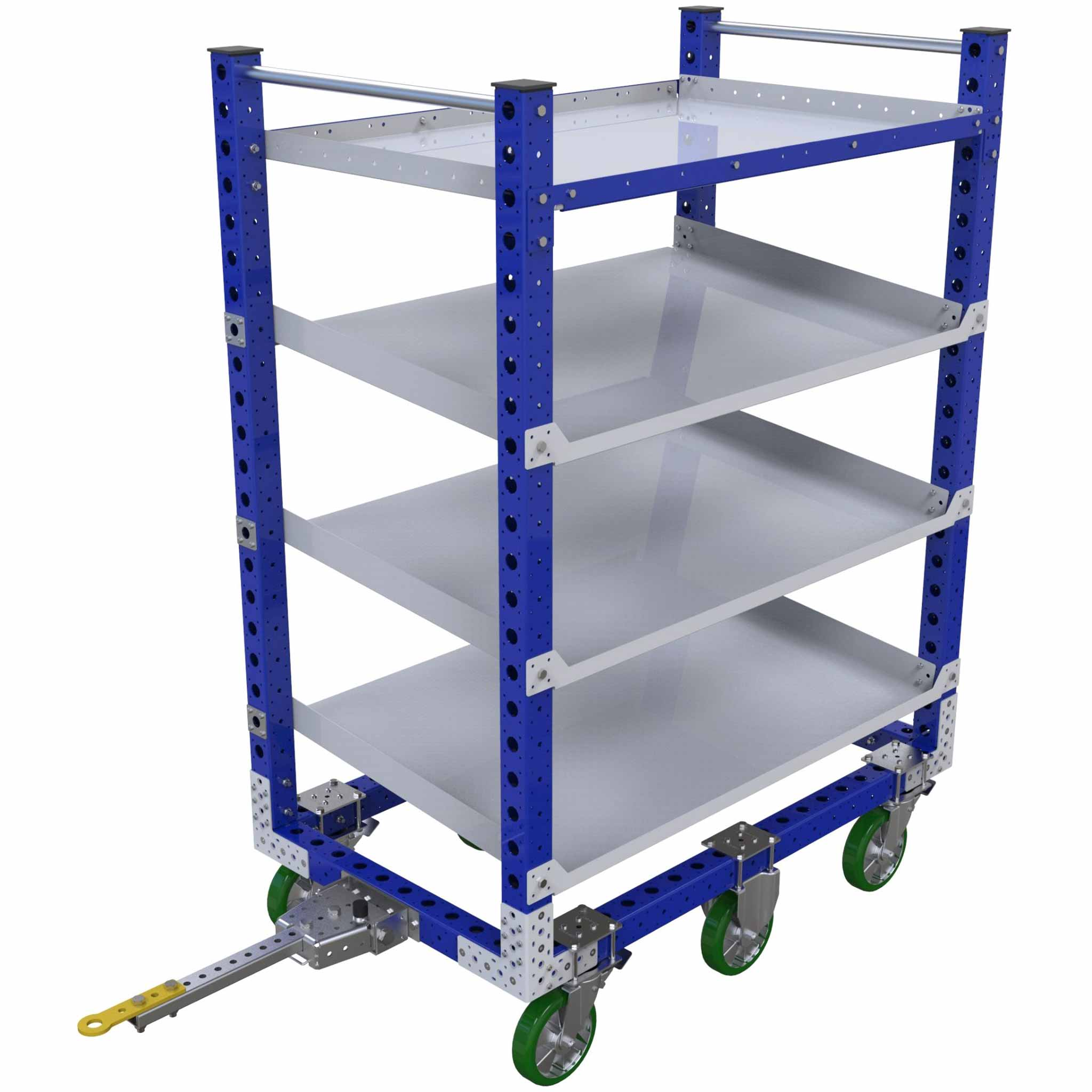 Flow Shelf Tugger Cart - 840 x 1400 mm