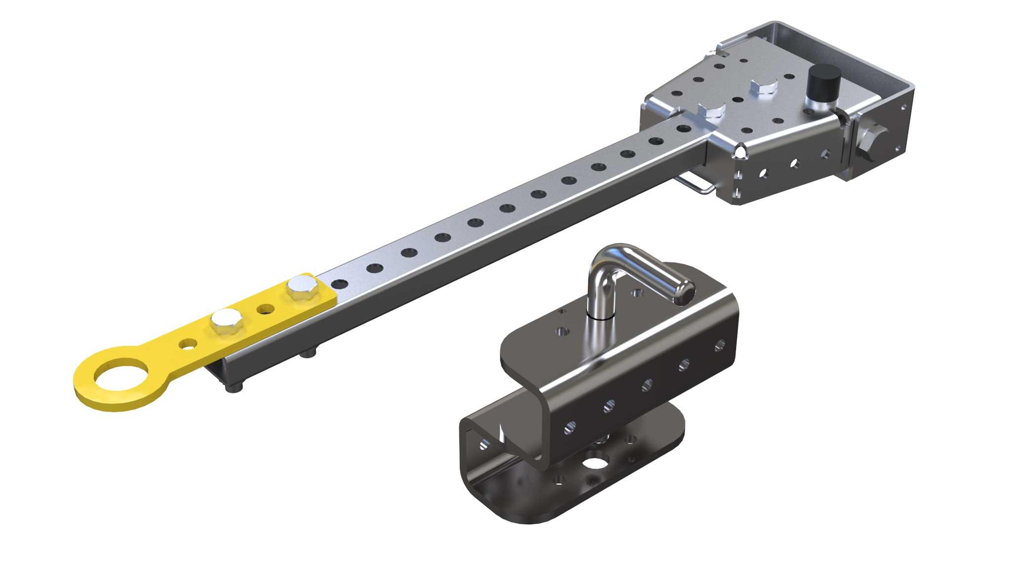 Tow bar Hitch Kit (40 mm Lip) 700 mm